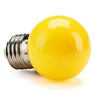 E26/E27 0.5 W High Power LED 50 LM Yellow G Globe Bulbs V