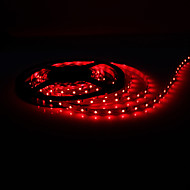 5M 5W 300x3528 SMD Red Light Flexible LED Strip Lamp (DC 12V)
