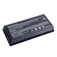 Batteri til bærbar computer, ASUS (11.1V, 4400mAh, svart)