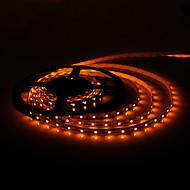 5m 5w 300x3528 SMD geel licht flexibele led strip lamp (DC 12V)