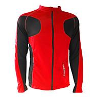 JAGGAD Cyclisme Hauts/Tops / Veste Homme Vélo Zip frontal / Pare-vent Manches longues Polyester Jaune / Blanc / Rouge / BleuS / M / L /