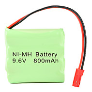 Ni-MH AAA batteri (9.6V, 800 mAh)