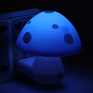 Cute Mushroom Design Mini LED Night Lamp (220V, Random Color)