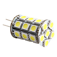 G4 5 W 27 SMD 5050 450 LM Warm White/Cool White Corn Bulbs DC 12 V