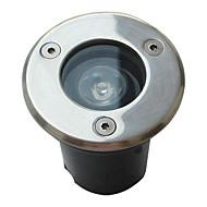 Vízálló 1W 85lm 3000-3500K meleg fehér fény led árvíz lámpa (110-240V)