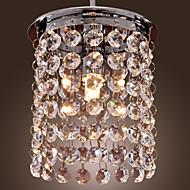 Max 40W Hedendaags Kristal / Ministijl / Lamp Inbegrepen Galvanisch verzilveren Plafond Lichten & hangersWoonkamer / Eetkamer /