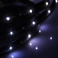 vedenpitävä 30cm 12-LED valkoinen LED nauhat valo (12v)