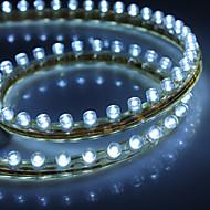 vedenpitävä 48cm 48-LED valkoinen LED nauhat valo auton (12v)