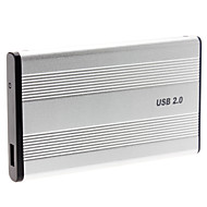 "2.5 ""alluminum usb 2.0 ide disque dur externe cas enceinte"