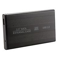 """2.5 """"alluminum usb 2.0 hdd sata disque dur externe cas enceinte"""