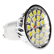 GU10 5W 24x5050 SMD 380-420LM 6000-6500K Natural White Light LED Spot Bulb (220-240V)
