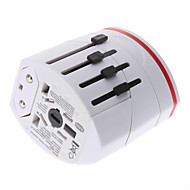 World Travel Adapter med 2 USB oplader