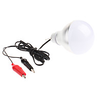 6W 6 High Power LED 600 LM Cool White LED Globe Bulbs DC 12 V