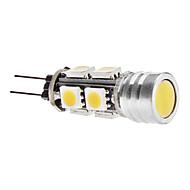 daiwl g4 3,5 W 9x5050 SMD 250-270lm 3000-3500k varmt hvidt lys førte majs pære (12V)