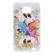 Butterfly Design Soft Case for Samsung Galaxy S2 I9100