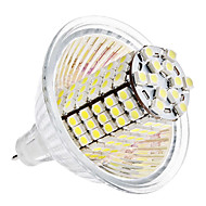 Lâmpadas Espiga GU5.3(MR16) 5W 420 LM 6000K K Branco Natural 120 SMD 3528 DC 12 V MR16