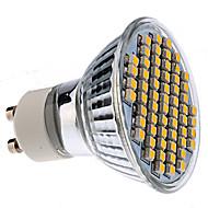 GU10 2.5 W 60 SMD 3528 180 LM Warm White MR16 Spot Lights AC 220-240 V