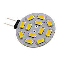 G4 2.5 W 12 SMD 5730 260 LM Warm White Spot Lights DC 12 V