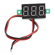 """V20D 0,56 """"LED double ligne 3-Digital Direct-Current Module de mesure Voltmètre (blanc + vert, DC 2,5 ~ 30V)"""