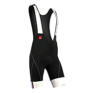 SANTIC® Cycling Bib Tights Men's Breathable / Quick Dry / Moisture Permeability / Reflective Strips / 3D Pad BikeBib Shorts / Padded