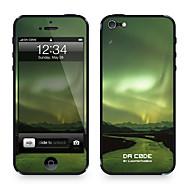 "Da Kode ™ Skin for iPhone 4/4S: ""Aurora Borealis, nordlyset"" (Universe Series)"