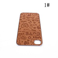 Cartoon Style Palstic Case for iPhone 4/4S(Assorted Colors)