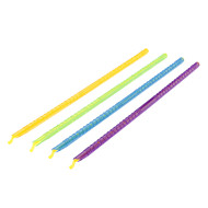 "11.5"" Colorful Bag Sealers (Set of 4)"