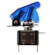 DIY niebieskie podświetlenia LED Przełącznik On / off na samochodzie (12V 20A)