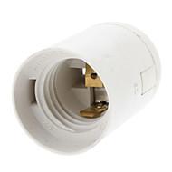 E27 lampunpidike lamppupitimeen (valkoinen)
