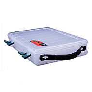 Transparent Portable Double Sides Lure Box Tackle Box (29*19*6cm)