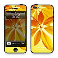 """Da Kode ™ Skin for iPhone 4/4S: """"Leaves i Sunset"""" (Planter Series)"""