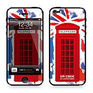 """Da koodi ™ Skin iPhone 4/4S: """"UK, Iso-Britannia, Iso-Britannia"""" (Flags-sarja)"""