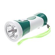 Omeika OMK-3236 Genopladeligt 2-Mode 4-LED lommelygte med ultraviolet lys (assorterede farver)
