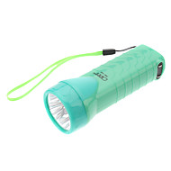 Omeika OMK-3233 Rechargeable 2-Mode 4-LED Flashlight with Ultraviolet Light (Assorted Colors)