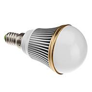 E14 3 W 3 High Power LED 240 LM Warm White B Dimmable Globe Bulbs AC 220-240 V