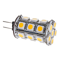 3W G4 LED Corn Lights T 24 SMD 5050 290 lm Warm White DC 12 V