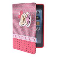 sød lille bjørn sag w / står for iPad Mini 3, iPad Mini 2, iPad Mini (assorterede farver)