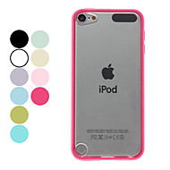 Transparent Frosted vanskelig sak for iPod Touch 5 (assorterte farger)