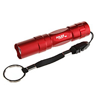 037-45 1-Mode LED Flashlight Mini (1xAA, Rojo / Negro / Azul / Brown)
