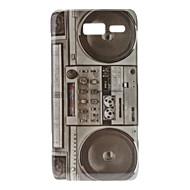 Varten Motorola kotelo Kuvio Etui Takakuori Etui Piirros Kova PC Motorola