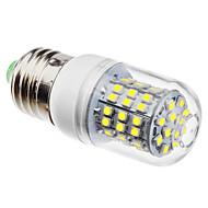 E27 3.5W 3528smd 320lm 6500K naturligt vitt ljus LED majs glödlampa (110/220V)