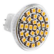 MR11 1.5W 30x3528SMD 150-180LM 3000-3500K warm wit licht LED Spot lamp (DC 12V)