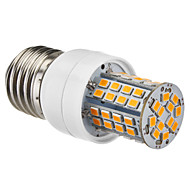 E27 5W 60x2385SMD 450-500LM 2700-3500K Warm White LED Corn Bulb (220-240V)