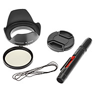 Accessori per GoPro,Cappuccio lentePer-Action cam,Nikon D3100 Plastica