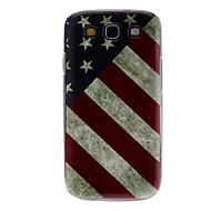 Vintage America Pattern Hard Case für Samsung Galaxy S3 I9300