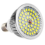 E14 6W 48x2835SMD 580-650LM 5800-6500K Natural White Light LED Spot lamppu (110-240V)