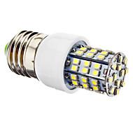 Lampadine a pannocchia 60 SMD 3528 E26/E27 3.5 W 270 LM 6500K K Bianco AC 220-240 V