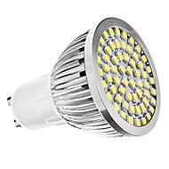 3W GU10 Focos LED MR16 60 SMD 3528 240 lm Blanco Natural AC 110-130 / AC 100-240 V