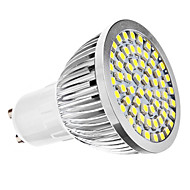 3W GU10 LED 스팟 조명 MR16 60 SMD 3528 240 lm 내추럴 화이트 AC 110-130 / AC 220-240 V