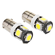 Araba Beyaz 2.5W SMD LED 6000-6500 Plaka Aydınlatma Lambası Sinyal Lambası Çift Taraflı lamba